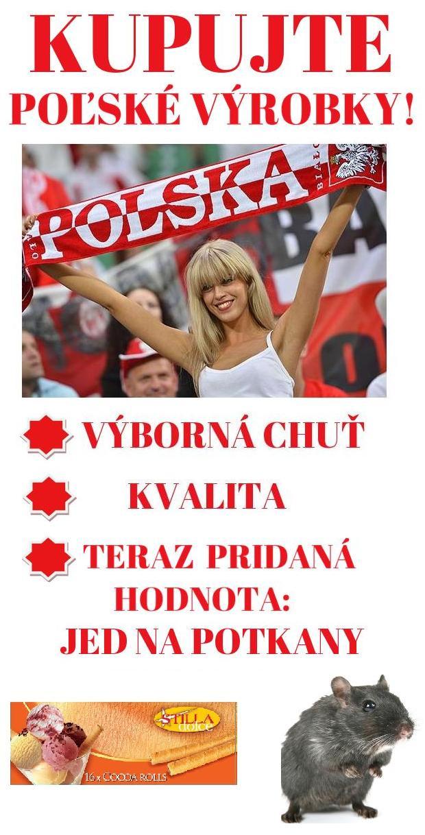 Kupujme poľské výrobky!